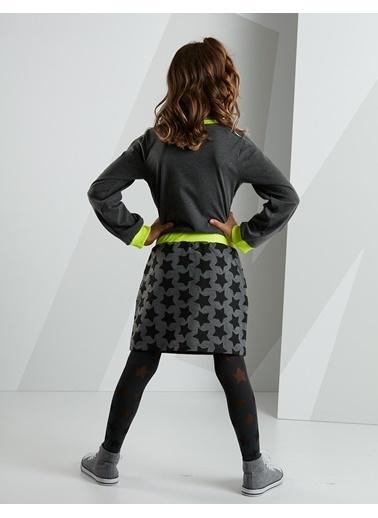 Mushi Elbise Siyah